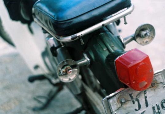 오토바이를 조심하세요! Photo Credit: Khánh Hmoong