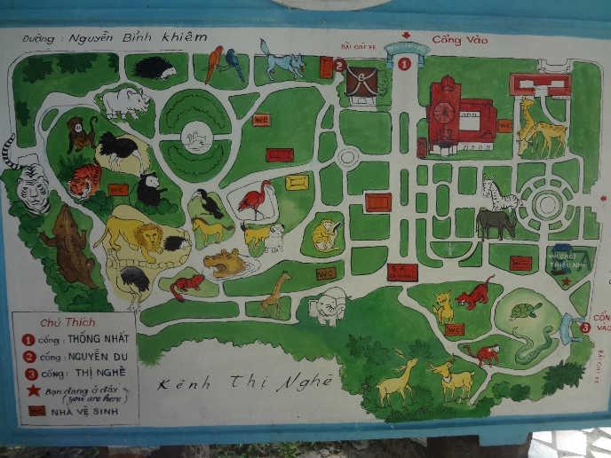 호치민 여행 호치민 동물원