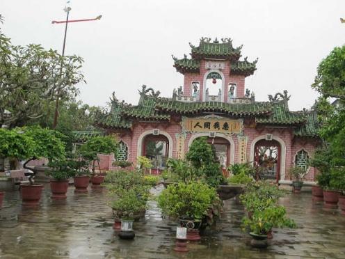 복건회관 : 중국 화교들의 집회소 호이안 여행 호이안 관광 호이안