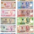 베트남 돈