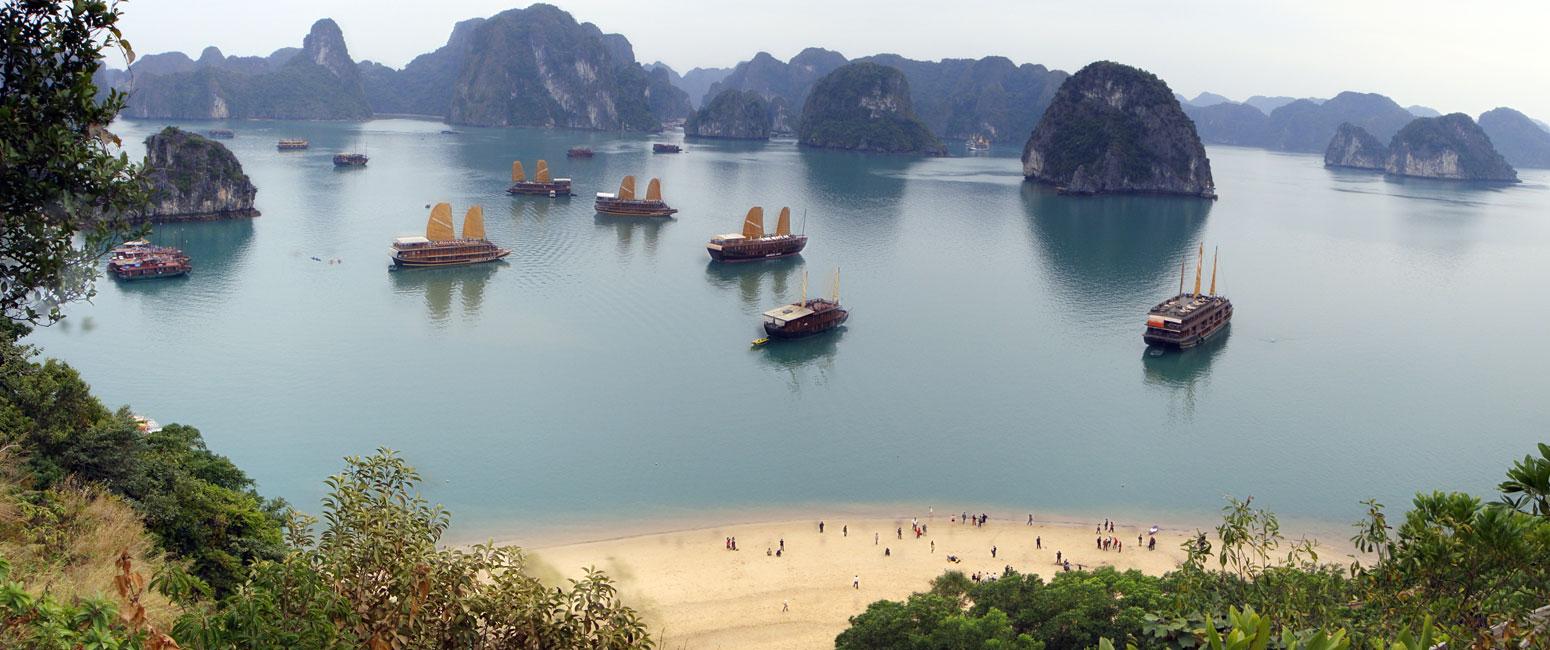 첫 베트남 여행지 어디로 정할까?