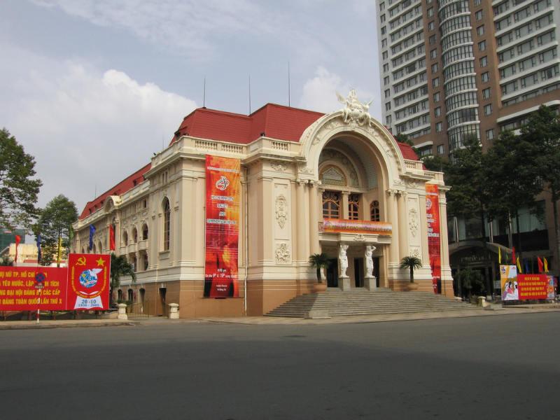 호치민 오페라 하우스 호치민 관광지 오페라 하우스