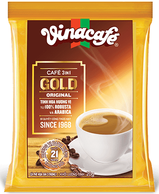 Vinacafe의 3in1 Gold Original